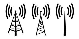 无线电天线 免版税库存照片