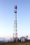 无线电天线 免版税库存图片
