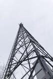 无线电帆柱 免版税库存照片