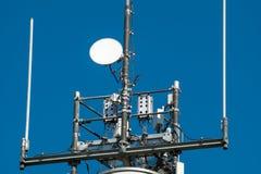 无线电帆柱 库存图片