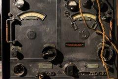 无线电广播发射机 免版税库存照片