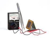无线电技术修理  库存照片