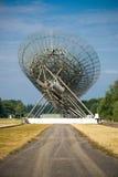 无线电望远镜在Westerbork,荷兰 免版税库存图片