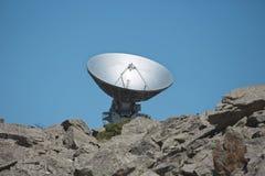 无线电望远镜盘天文天线 库存照片