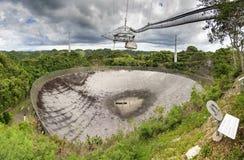 无线电望远镜Arecibo 免版税库存图片