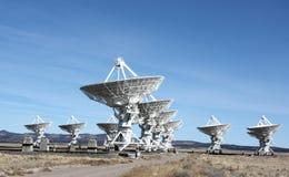 无线电望远镜vla 库存图片