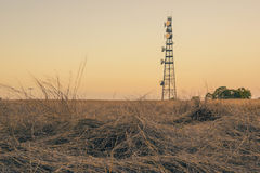 无线电铁塔在昆士兰 免版税图库摄影