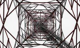 无线电铁塔在芬兰 库存照片