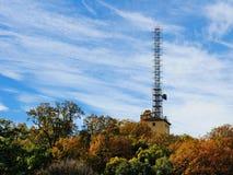 无线电铁塔梵蒂冈 库存照片