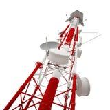 无线电铁塔 库存例证
