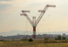 无线电铁塔 图库摄影