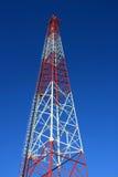 无线电铁塔 免版税图库摄影