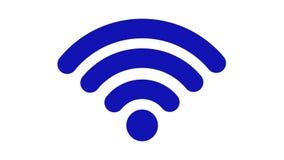 无线网络象 连接设备fi网络rf无线符号的wi 向量例证