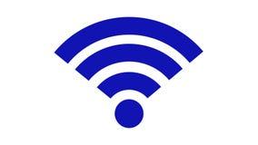 无线网络象 连接设备fi网络rf无线符号的wi 库存例证