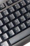 无线黑计算机个人计算机键盘 库存图片