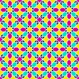 无缝东部的模式 阿拉伯几何传染媒介背景 装饰伊斯兰教的背景 东部模板装饰设计 flo 库存例证