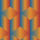 无缝五颜六色的几何的模式 免版税库存图片