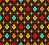 无缝五颜六色的模式 库存图片