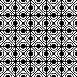 无缝几何格子的模式 图库摄影