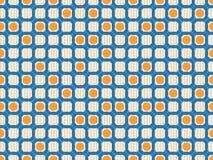 无缝几何模式的环形 免版税库存图片