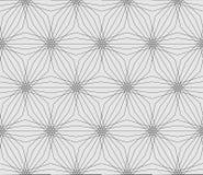 无缝几何现代的模式 库存照片