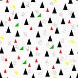 无缝几何的三角 皇族释放例证