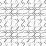 无缝几何的样式 库存图片