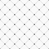 无缝几何的模式 与破折线的小点 库存图片