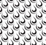 无缝几何的模式 传染媒介抽象流行音乐艺术背景 免版税库存照片