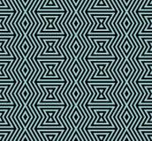 无缝几何的模式 简单的规则背景 与美洲印第安人主题的时髦行家样式 阿兹台克 免版税库存图片