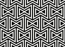 无缝几何的模式 简单的规则背景 与美洲印第安人主题的时髦行家样式 阿兹台克 免版税库存照片