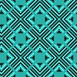 无缝几何的模式 库存图片