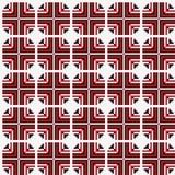 无缝几何的模式 免版税图库摄影