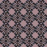 无缝几何的模式 库存照片