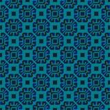 无缝几何的模式 库存例证