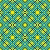 无缝几何的模式 免版税库存图片