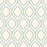 无缝几何的模式 图库摄影