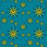 无缝可用的美好的eps花卉格式的模式 库存图片