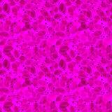 无缝叶子的模式 紫色水彩 库存图片