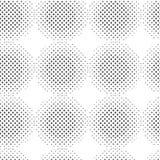 无缝圈子的模式 库存例证