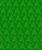 无缝圣诞树的纹理 图库摄影