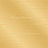 无缝圣诞节多语种的模式 免版税库存照片