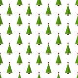 无缝圣诞节的模式 向量背景 免版税库存图片