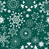 无缝圣诞节的模式 库存例证