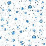 无缝圣诞节的模式 免版税库存图片