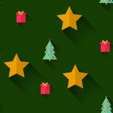 无缝圣诞节的模式 皇族释放例证