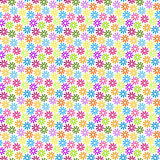 无缝小的花背景的样式 免版税图库摄影