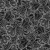 无缝抽象乱画的模式 免版税库存照片