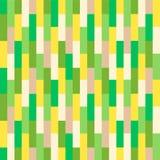 无缝抽象五颜六色的几何的模式 库存例证