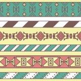 无缝抽象五颜六色的模式 免版税库存图片